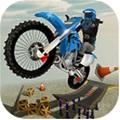 屋顶自行车中文破解版无限金币(Rooftop Bike Stunts)