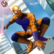 飞行蜘蛛侠救援英雄3d无限金币版