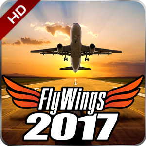 �w行模�M器2017中文版破解版(FlyWings 2017 Flight Simulator)