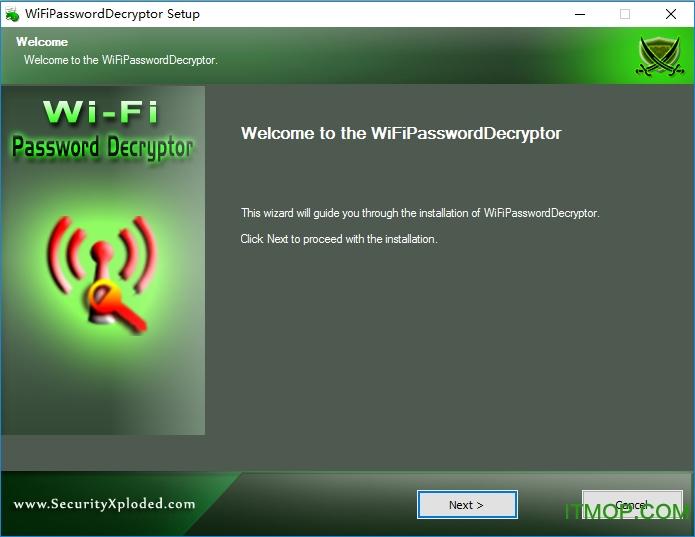 WiFi Password Decryptor(wifi快速破解器) v1.5 绿色版 0