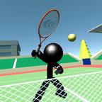 火柴人3D网球内购破解版(Stickman 3D Tennis)