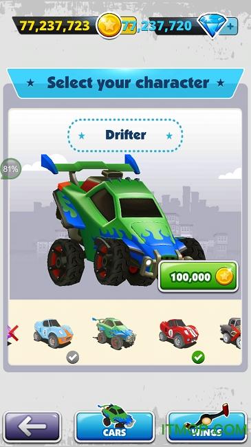 赛车酷跑游戏破解版 v1.0.0 安卓无限金币最新版 1