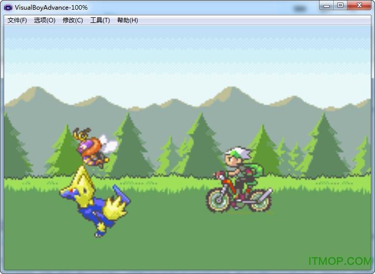 口袋妖怪超级绿宝石8.0(含修改器) 绿色中文版 0