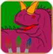 手绘恐龙内购破解版(Dino paint)