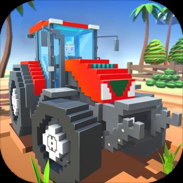 块状农场现场工人SIM内购破解版(Blocky Farm:Field Worker SIM)