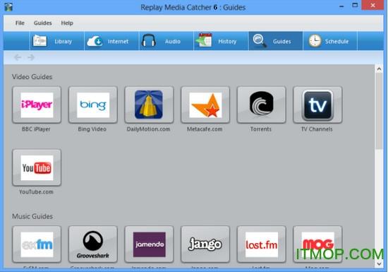 视频视频每逢器(replaymediacatcher)v6.0.1.2捕捉网页图片