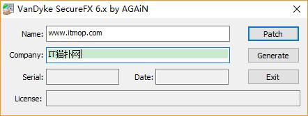 securecrt8.0.4注册码(支持securecrt 8.0-8.0.4) 汉化破解版 0