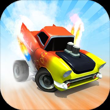 公路跑酷小小赛车内购破解版无限金币(Car Racing)