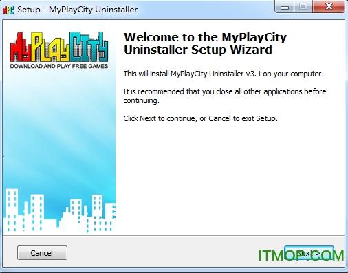 MyPlayCity Uninstaller(多能卸载程序) v3.1 安装版 0