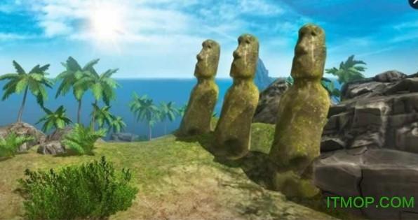 阿兹特克岛模拟生存3D内购破解版(Aztec Island Survival Sim 3D) v2.0 安卓版0