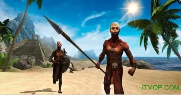 阿兹特克岛模拟生存3D内购破解版(Aztec Island Survival Sim 3D) v2.0 安卓版1
