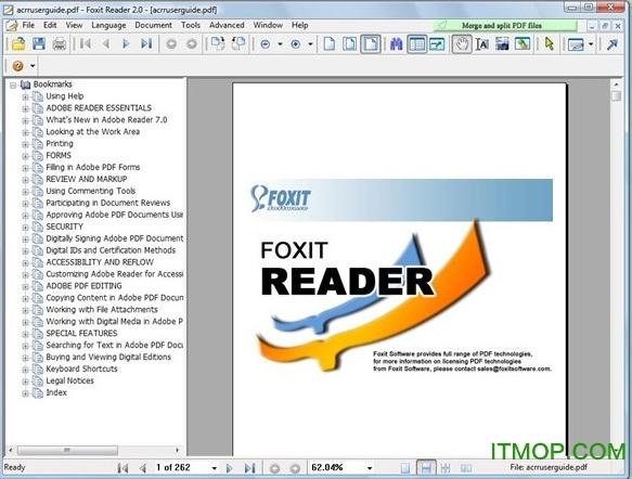 Foxit PDF Reader绿色版 v4.3 汉化版 0