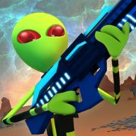 外星人战斗模拟器无限金币版(Creepy Aliens Battle Simulator 3D)