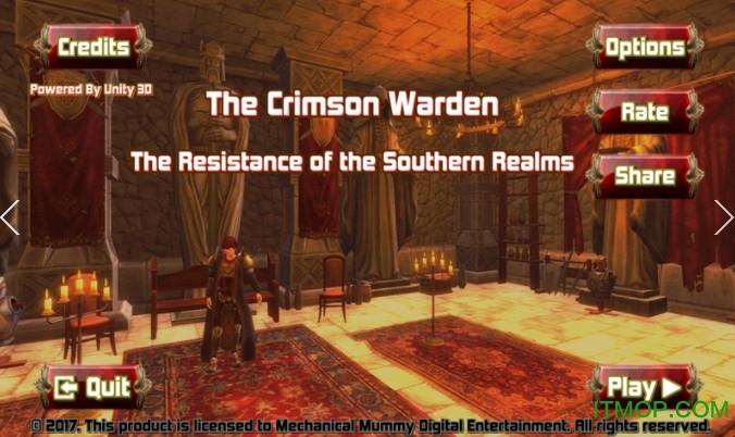 绯红监狱长内购破解版无限金币(Crimson Warden) v0.06 安卓版 3