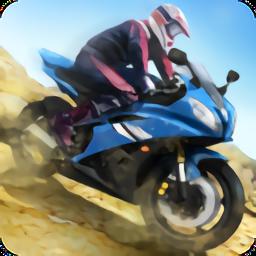 山地摩托�2游��荣�破解版(Hill Climber Moto Bike World 2)