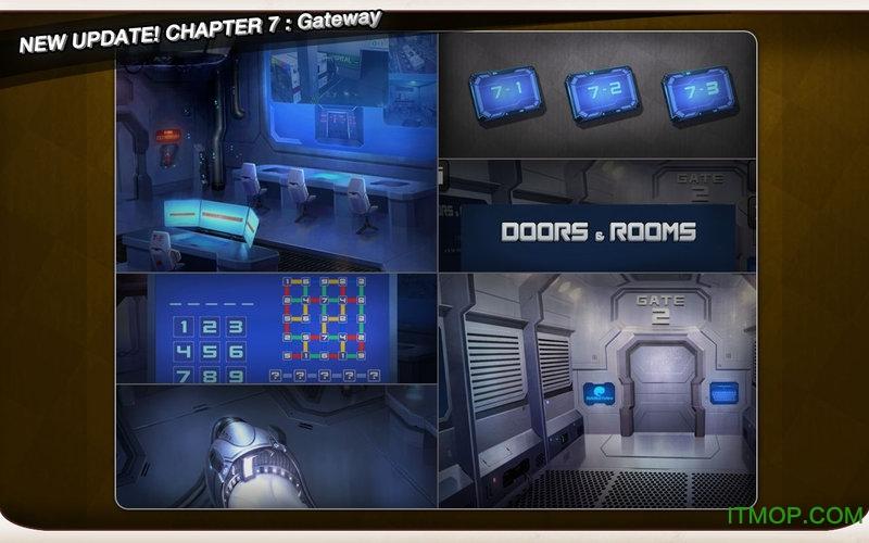 逃脱本色无限金币版(doors&rooms) 安装截图