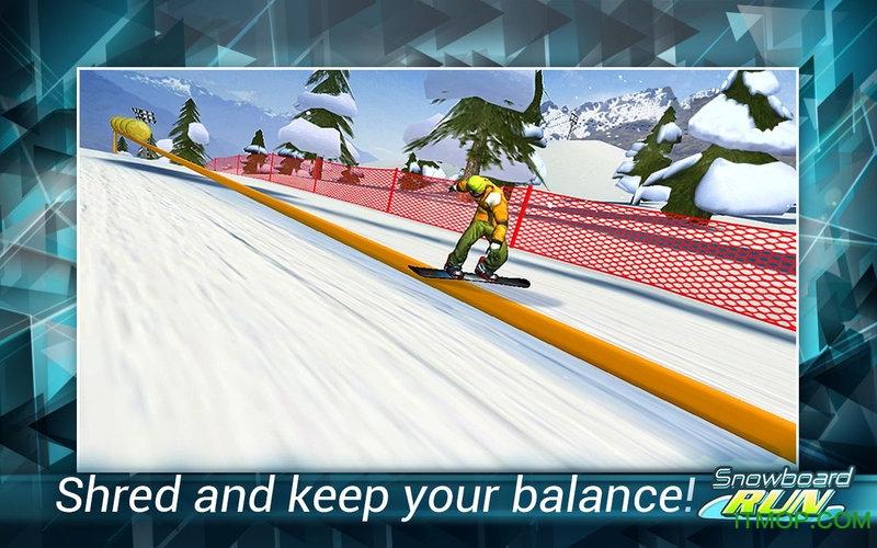 花样滑板跑酷无限金钱版(Snowboard Run) v1.8 安卓版 0