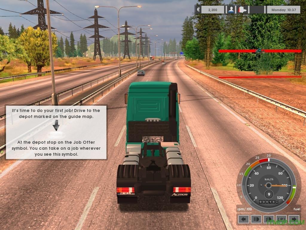德国卡车模拟手机游戏 v1.0 安卓版3