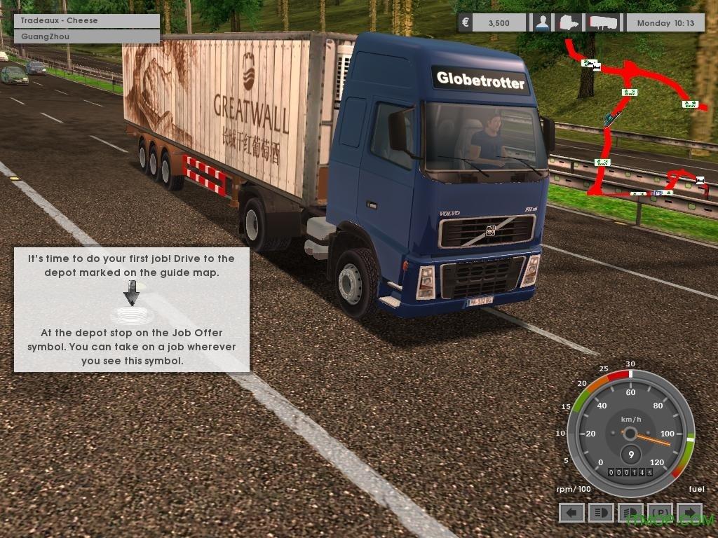 德国卡车模拟手机游戏 v1.0 安卓版1