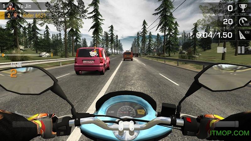 疯狂竞赛摩托内购破解版(Racing Fever:Moto) v1.0.3 安卓无限金币版 2