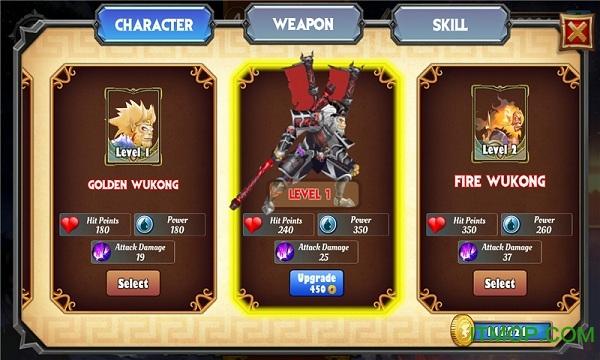 孙悟空之战内购破解版(Battle Of Wukong) v1.1.6 安卓无限金币版 2