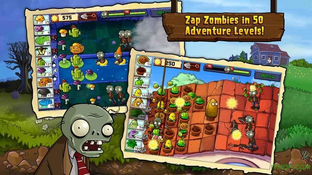 植物大战僵尸最初版(Plants vs.Zombies) v2.9.08 安卓官方正版 2