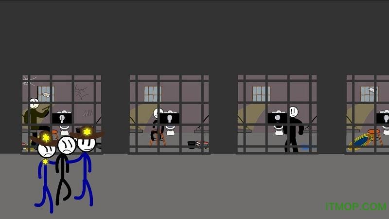 火柴人越狱2中文破解版 v1.0.0 安卓无限金币版 0