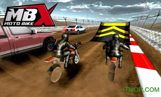 摩托车x赛车内购破解版(MOTO Bike X) v2.0 安卓无限金币解锁关卡版 0