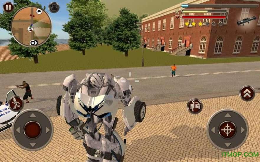 变形金刚机器人破解版