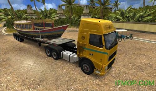 18轮大卡车极限卡车司机2破解版