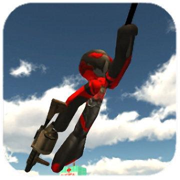 火柴绳索英雄2中文破解版(stickman rope hero 2)