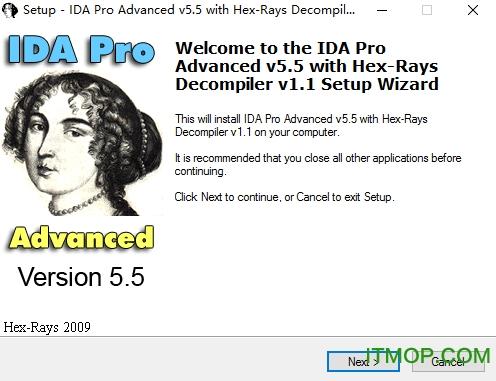 IDA pro(源码恢复反汇编静态分析工具) v5.5.0.925 汉化破解版 0