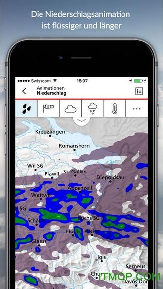 Meteo Swiss app(瑞士天气预报软件) v1.4.1 安卓版1