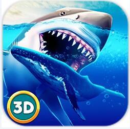 凶残鲨鱼模拟3D内购破解版中文版