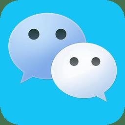微蓝色微信app