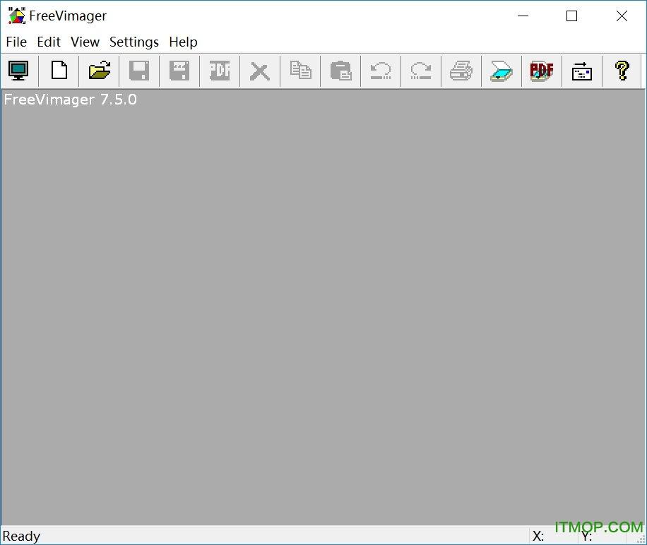 图像查看编辑工具(FreeVimager)