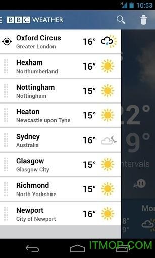 BBC Weather v2.2.0 安卓版1