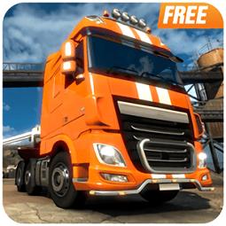 集装箱卡车模拟器中文破解版(Rough Truck Simulator)