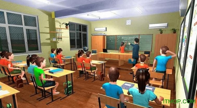 校园模拟器游戏 v1.0 安卓版 0