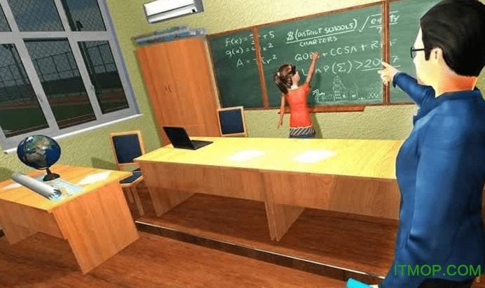 校园模拟器游戏 v1.0 安卓版 2