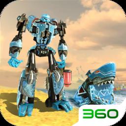 变形机器鲨3D