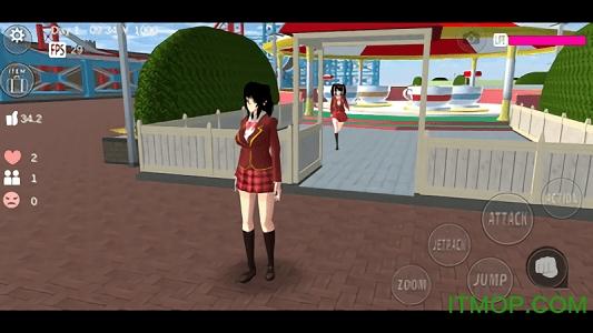 樱花校园模拟器英文版 v1.3 安卓版 0
