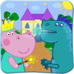 小猪佩奇与冰龙游戏