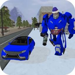 冬季变形机器人(Winter Robot Rise)