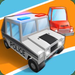 像素警察追击游戏