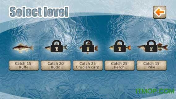冬季捕鱼3D游戏