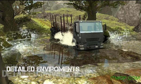 模拟驾驶大卡车3D游戏