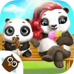 熊猫宝贝的护理冒险游戏
