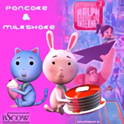 煎饼奶昔(Pancake & Milkshake)v1.0 安卓版