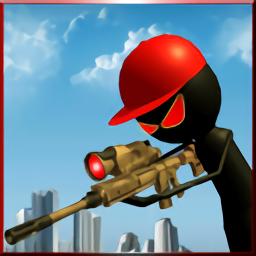 дуе╜╣д╩П╡Яхк╬я╩Вйж(ANGRY STICK SNIPER GUN SHOOTER)